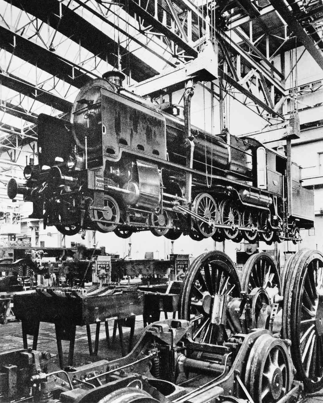 Donk - Project: Ontdek de Spoorzone - Locomotief